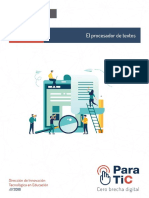Guía_Didáctica El Procesador de Textos