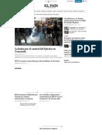 El PaÍs Edición América_ El Periódico Global