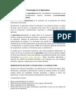 Tecnología en la Agricultura.docx