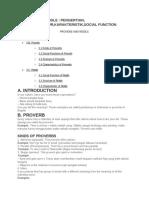 Proverb and Riddle _ Pengertian, Contoh,Struktur,Karakteristik,Social Function - Google Docs