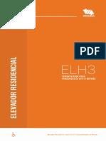 Montele Folder Elevador Residencial Acessibilidade H3 2019