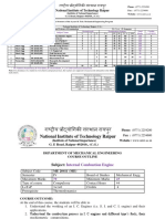 Modified Syllabus and Scheme IV Semester