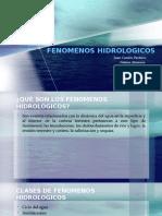 femonenos hidrologicos