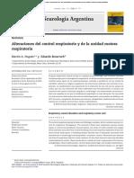 Alteraciones Del Control Respiratorio y de La Unidad Motora Respiratoria STR