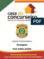 Apostila PF ADM 2016 - Português - Pablo Jamilk