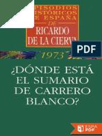 _Donde esta el sumario de Carre - Ricardo de la Cierva.pdf