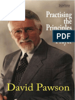 Practising the Principles of Prayer - Pawson, David