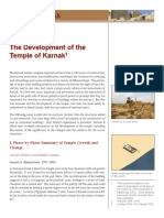 The Development of the Temple of Karnak