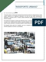 UNIDAD 2 Transporte Urbano
