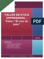 Taller Etica Empresarial