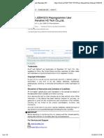 2017JVCI J2534 ECU Reprogrammer User Manual Shenzhen HC Tech Co.,Ltd..pdf