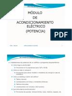 Instalaciones II Acondicionamiento Eléctrico Potencia  -  Clase I -2018.pdf