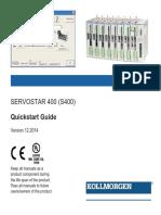 S400 Servo Drive Quick Start Guide En
