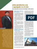 Exportar Productos Con Valor Agregado Revista Actualidad Economica