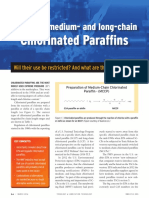 Status of Medium- And Long-chain Chlorinated Paraffins