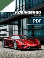 Koenigsegg Magazine 2017 20170126 WEB