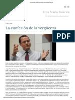 La Confesión de La Vergüenza _ Rosa María Palacios