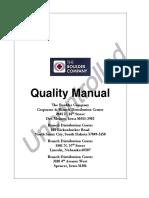 QMS Manual