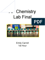 AP Chem Lab Final
