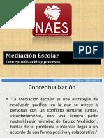 Mediación Escolar - Conceptualización y Procesos