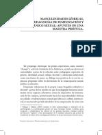 Valeria Flores Articulo Masculinidades Lésbicas y Pánico Sexual