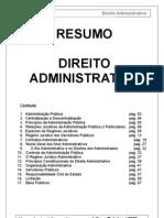 RESUMÃO Direito Administrativo