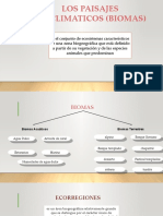 LOS PAISAJES BIOCLIMATICOS (BIOMAS).pptx