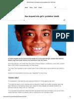 Ella Kissi-Debrah_ New Inquest Into Girl's 'Pollution' Death - BBC News