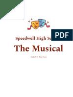 speedwell high school  the musical