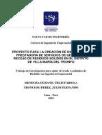 2018 Mendoza Durand