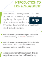 Introduction to Production Management[1] Xc56