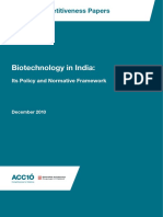 13. Biotechnology in India_ Its Policy and Normative Framework