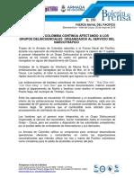 Boletin de Prensa Armada de Colombia