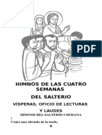 Himnos de Las Cuatro Semanas Del Salterio