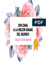 DIPLOMA PARA MAMÁ 10 DE MAYO 01