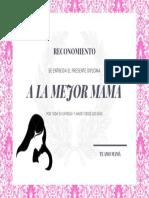 DIPLOMA PARA MAMÁ 10 DE MAYO 03