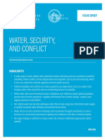 Water Security Conflict