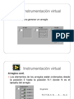 Programación Labview - Arreglos