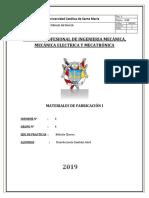 Informe de Dureza Ensayo
