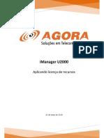 iManager U2000 - Aplicar licença de recursos.pdf