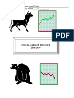 stock market project