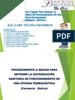 Requisitos para el Funcionamiento de una Farmacia