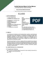 Silabo de Estadística Aplicada a Las Ciencias Sociales 21-03-2019-1
