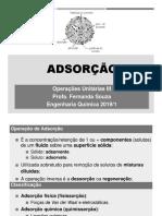 Adsorção-apresentação