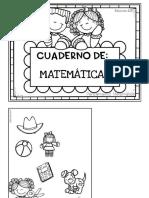 Cuaderno de Matemáticas Para Niños