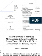 Akko-ptolemais, A Maritim Metropolis