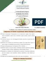 Cours Botanique 7 Herbier