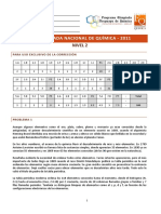 Nacionales 2011 - Nivel 2 - Teorico