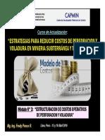 Módulo 3 - ESTRUCTURACION DE COSTOS OPERATIVOS DE PERFORACION Y VOLADURA (16-Abr-16).pdf