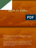 Iron in India